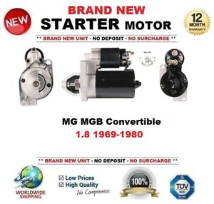For Mg Mgb Convertible 1 8 1969 1980 Starter Motor 1 1 Kw 10 Teeth Brand New