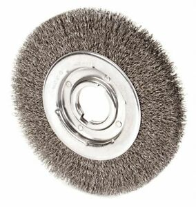10 Crimped Wire Wheel Brush Arbor Hole Mounting 0 020 Wire Dia 3 Bristle