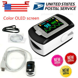 Usa Pulse Oximeter Cms50ea Color Oled Human Oxygen Saturation Finger Pulse Rate