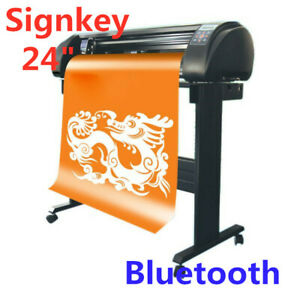24 Signkey Vinyl Sign Cutter With Automatic Contour Cut Function Bluetooth Out