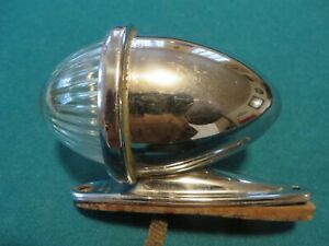 Vintage Original King Bee Hy Power No 60 Back Up Light With Clear Glass Lens