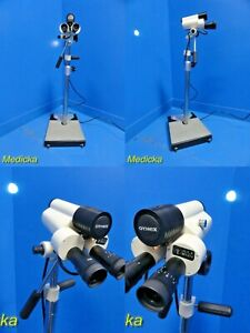 Gynex Co1000 9x Magnification Stereoscopic Colposcope W Wheel Base Stand 18311