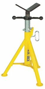 V head Pipe Stand 1 8 To 24 Pipe Capacity 21 To 36 Overall Height 2500 Lb