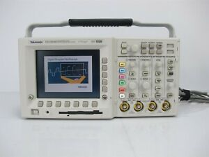 Tektronix Tds3054b Four Channel Color Digital Oscilloscope 500mh z 5gs s Dpo