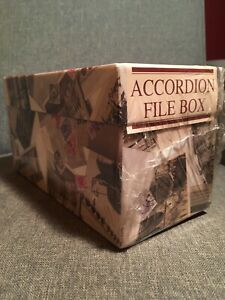 10 X 4 5 Accordion File Box
