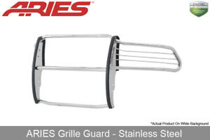 Aries Polished Stainless Steel Grille brush Guard 2010 2018 Dodge Ram 2500 3500