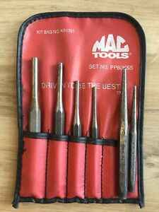 Mac Tools Punch Set W Pouch 6 Pieces Mixture Of Mac Snap On