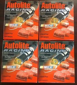 16 New Nascar Autolite Ar3932x Racing Spark Plugs Plug