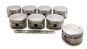 Sportsman Racing Products 4 030 In Bore Ford Cleveland Piston 8 Pc P N 206069