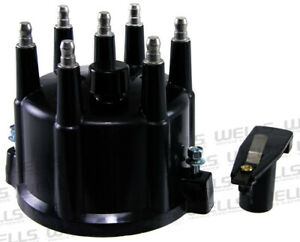 Distributor Cap And Rotor Kit O E Replacement Wve By Ntk 3d1088