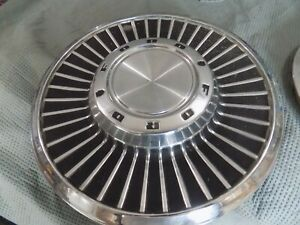 1958 Ford Fairlane 14 Inch Hubcaps Wheel Covers Set
