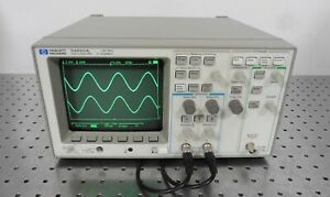 G159585 Hp 54600a 100mhz 2 channel Oscilloscope