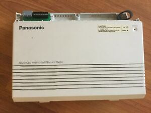 Panasonic Advanced Hybird Phone System Model No Kx ta624