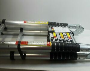 16 5 Ft Aluminum Telescopic Ladder Telescoping A type Extension Multi Purpose