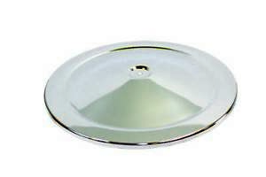 Specialty Chrome 14 In Round Chrome Steel High Dome Air Cleaner Lid P N 7112a