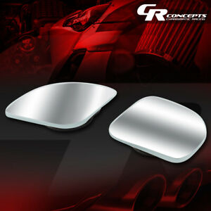 Pair Of Adjustable Corner Style Stick On Wide Angle Rear View Blind Spot Mirror