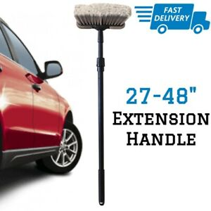 Car Washing Brush With Long Handle Auto Truck Vehicle Soft Wash Cleaning Bristle