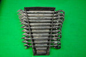 Blue Point Tools 11 Pc 12 Point Metric 15 Offset Ratcheting Wrenches 9 19mm