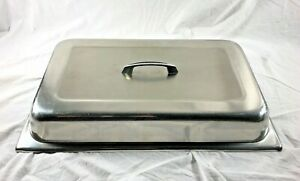 Full Size Steam Table Lid Stainless Steel Cover With Handle