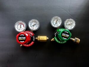 victor Oxygenaceylene Regulator Set Cutting Welding flow Meter Free Shipping