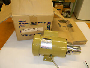 Iwaki Magnetic Drive Gear Pump Mdg h15ta 115 4 5gpm Tested Works Great D7