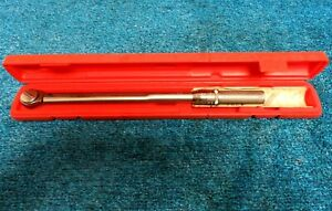 Matco Tools Torque Wrench Model T150fr 1 2 Drive In Snap on Case
