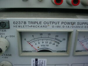 Hp 6237b Triple Output Power Supply