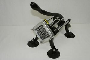 Heavy Duty Commercial Grade French Fry Maker Cutter With Suction Feet