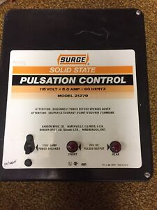 Surge Pulsation Control Solid State Model 21279