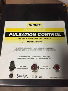 Surge Solid State Pulsation Control Box With Components