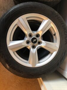 Ford Mustang Oem Rims Tires mint Condition 235 55 r17