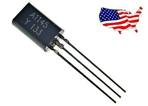 2sa1145 y 4 Pcs Audio Frequency Transistor From Usa