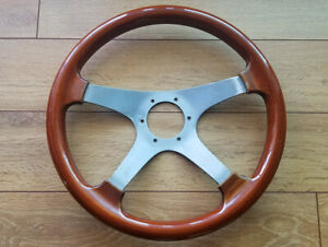 Rare Vintage 70 S Personal Manta 4 Wood Steering Wheel Toyota Mazda Bmw Vw Benz