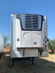 2007 Utility Reefer Carrerier Unit 2018 Model Near 5000 Hours
