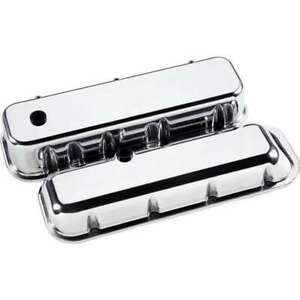 Billet Specialties Bbc Polished Tall Valve Covers P N 96129