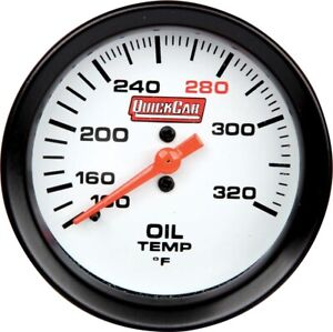 Quickcar Racing Products 100 320 Degree Oil Temperature Gauge P N 611 7009
