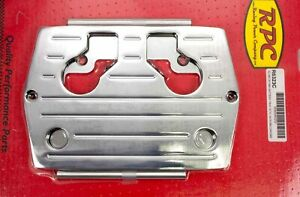 Racing Power Co Chrome Optima Blue Red Yellow Top Battery Tray P N R6326c