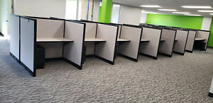 Steelcase Call Center Cubicles 48 w X 36 d X 53 h