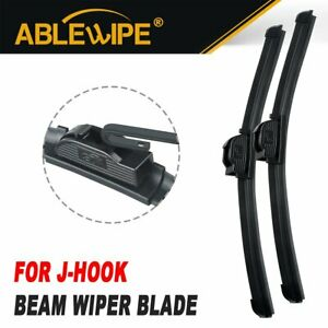 Ablewipe Fit For Toyota Camry All Season Beam Windshield Wiper Blades Set Of 2