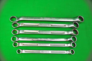 Snap on 6 Piece 12 Point Sae Standard 10 Offset Box Wrench Set 7 16 15 16