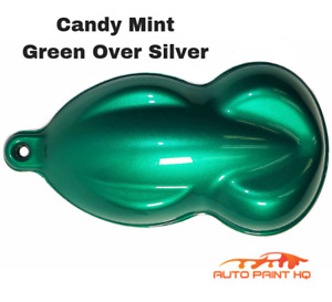 Candy Mint Green Gallon With Reducer Candy Midcoat Only Car Auto Paint Kit