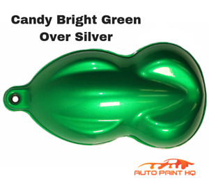 Candy Bright Green Gallon With Reducer candy Midcoat Only Car Auto Paint Kit