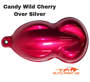 Candy Wild Cherry Gallon With Reducer candy Midcoat Only Car Auto Paint Kit
