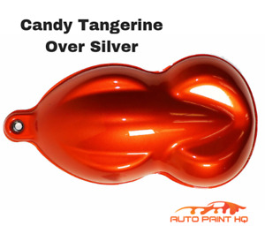 Candy Tangerine Orange Gallon With Reducer Candy Midcoat Only Auto Paint Kit