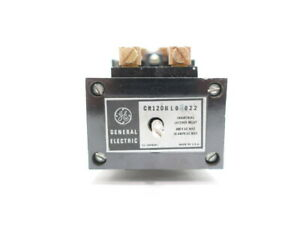 General Electric Ge Cr120bl02022 120v ac Latch Control Relay