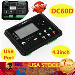 Dc60d Lcd Generator Controller For Diesel gasoline gas Genset Parameters Monitor