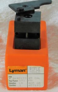 LYMAN .45 CAL 405gr RIFLE BULLET MOLD MOULD USED IN BOX