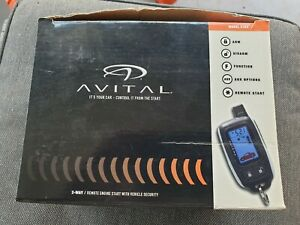 Avital 5303 Alarm System With Remote Start