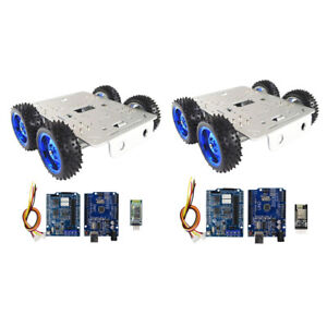 Perfeclan 4wd Diy Smart Robot Chassis Bluetooth wifi Driver Kit For Arduino