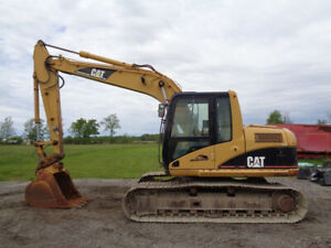 2002 Caterpillar 312cl Excavator Cab heat air Aux Hydraulics Hyd Qc 9 813hrs
